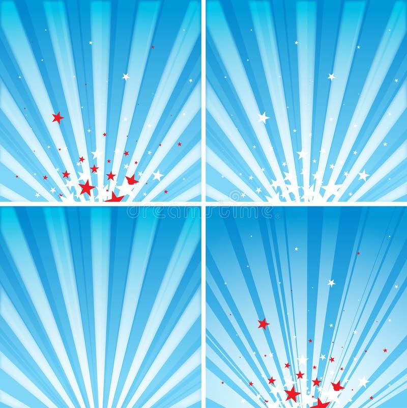 Download Stelle e raggi illustrazione vettoriale. Immagine di elementi - 22240730