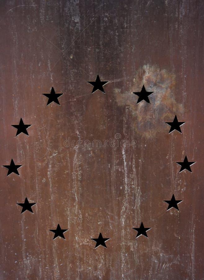 Stelle europee immagine stock
