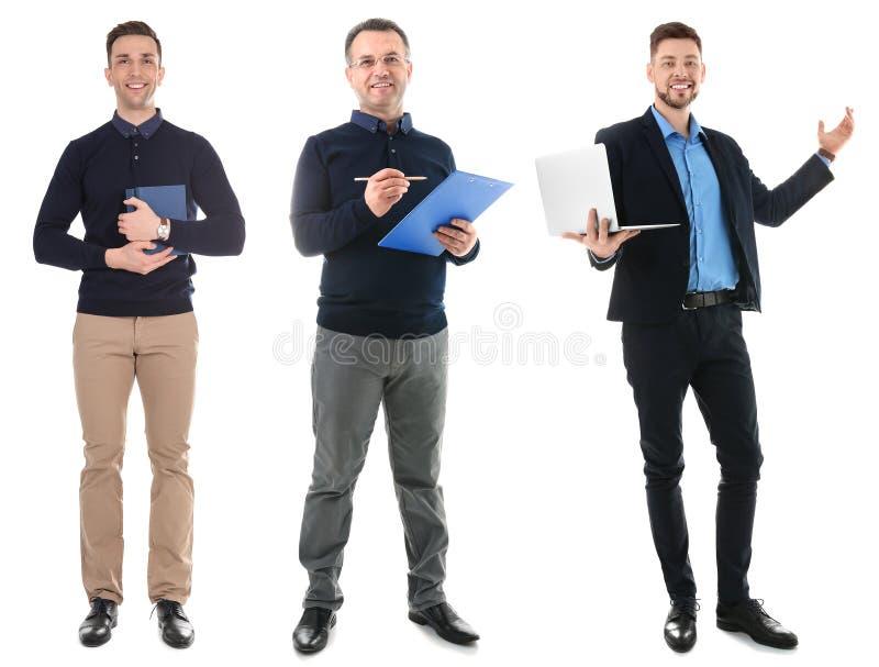 Stellen Sie mit verschiedenen Lehrern ein lizenzfreie stockbilder