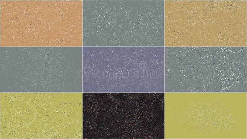 Stellen Sie vom Terrazzo-Muster ein lizenzfreie stockfotos