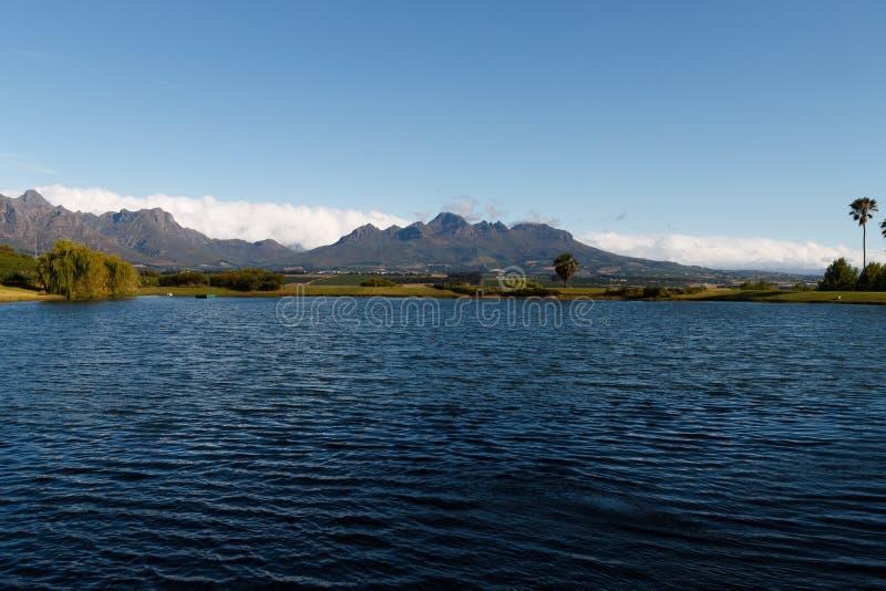 Stellenbosch royalty-vrije stock afbeeldingen