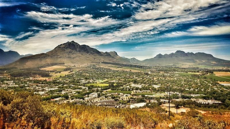 Stellenbosch stock foto