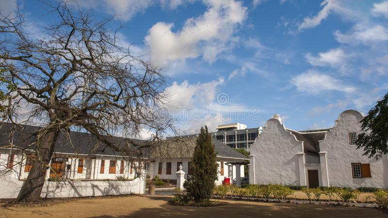 Stellenbosch Old Town royalty free stock photo