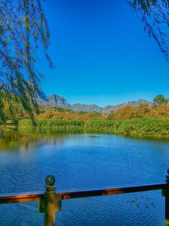 Stellenbosch, Zuid-Afrika royalty-vrije stock afbeelding