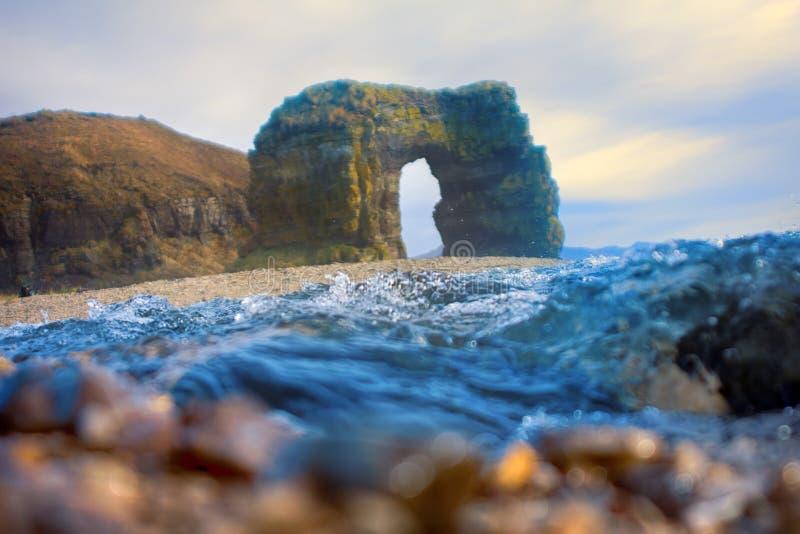 Steller曲拱  巨型的石曲拱 图库摄影