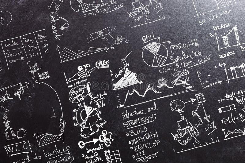 Stellt Nationalstandard-Berechnungen grafisch dar vektor abbildung