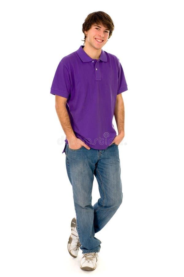 Stellung des jungen Mannes stockbilder