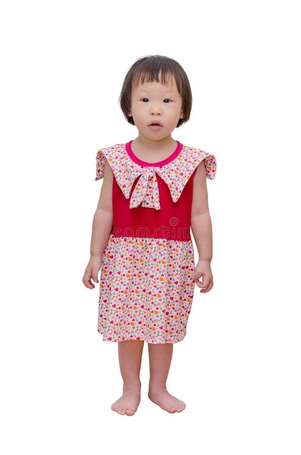 Stellung des kleinen Mädchens stockbilder