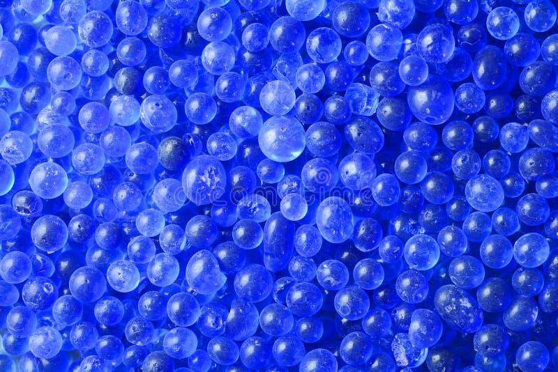 Stelnar blå kiseldioxid för närbilden textur arkivfoton