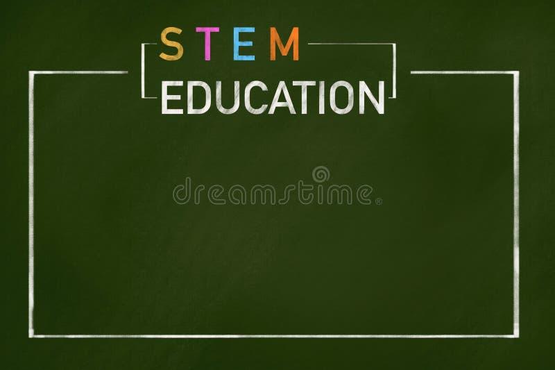 STEM education royalty free illustration