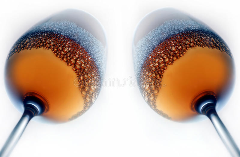 Download Stem Glasses Filled With Beer Stock Photo - Image: 16649998