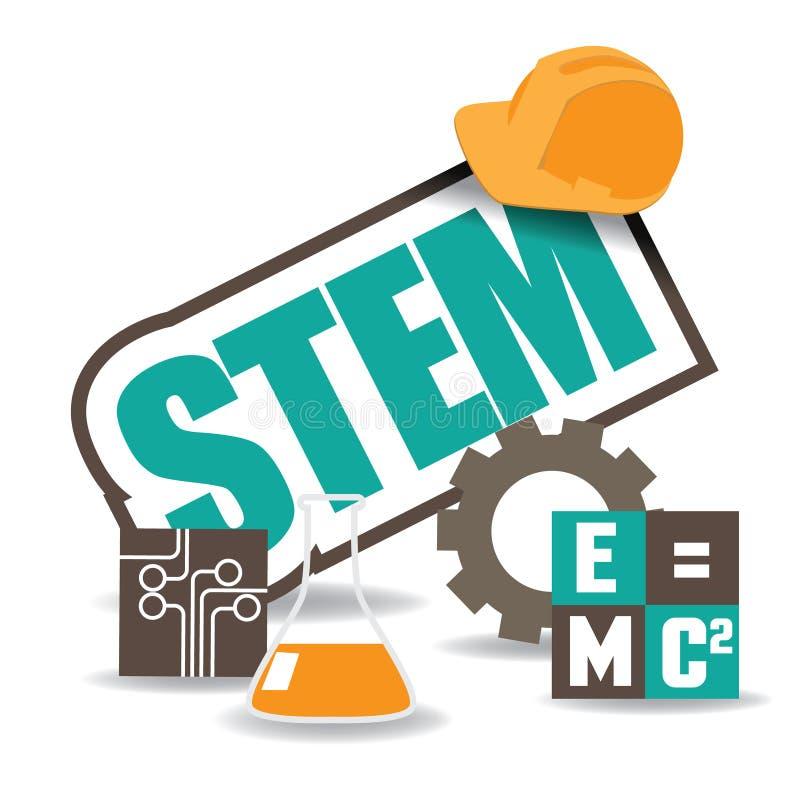 Free STEM Icon Flat Design EPS 10 Vector Stock Photo - 52284000
