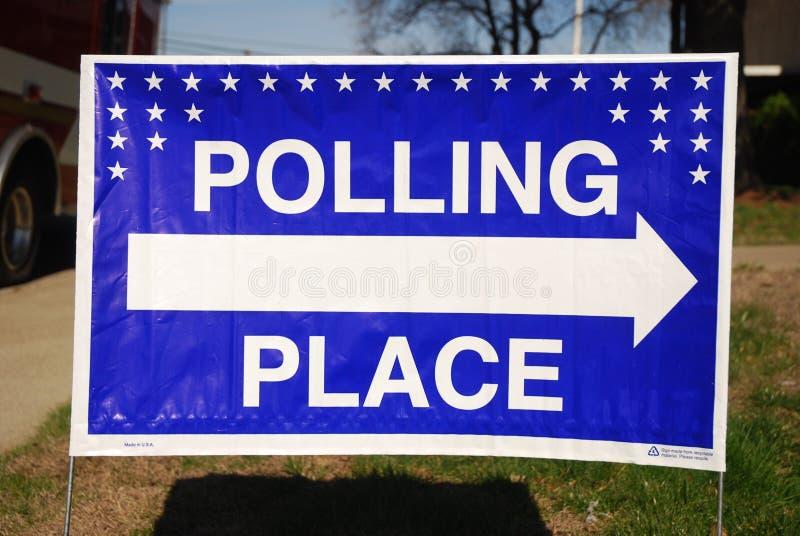 Stemlokaal stock fotografie
