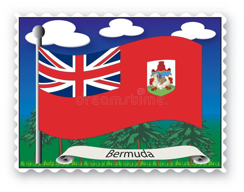 Stempel Bermuda Stockfotografie