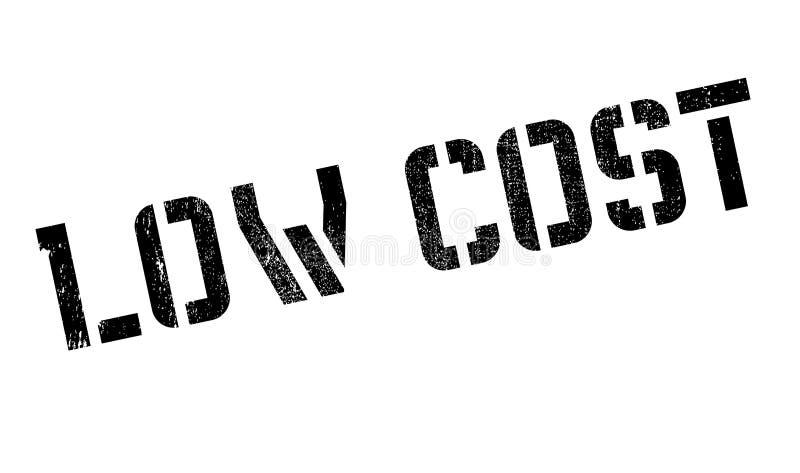 Stempel der niedrigen Kosten stock abbildung