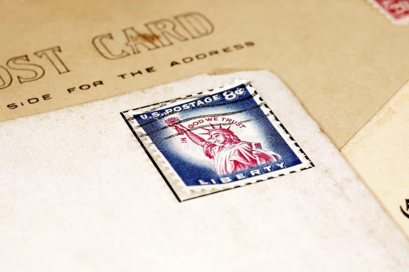 stempel pocztowy zdjęcia royalty free