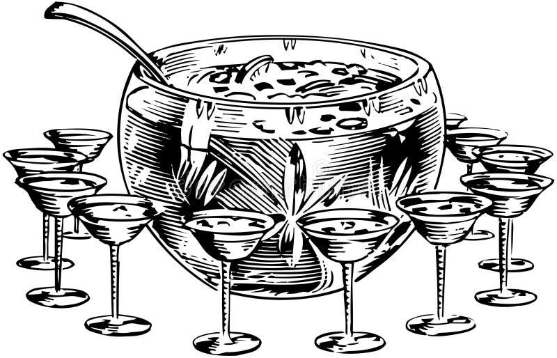 Stempelkom 1 vector illustratie