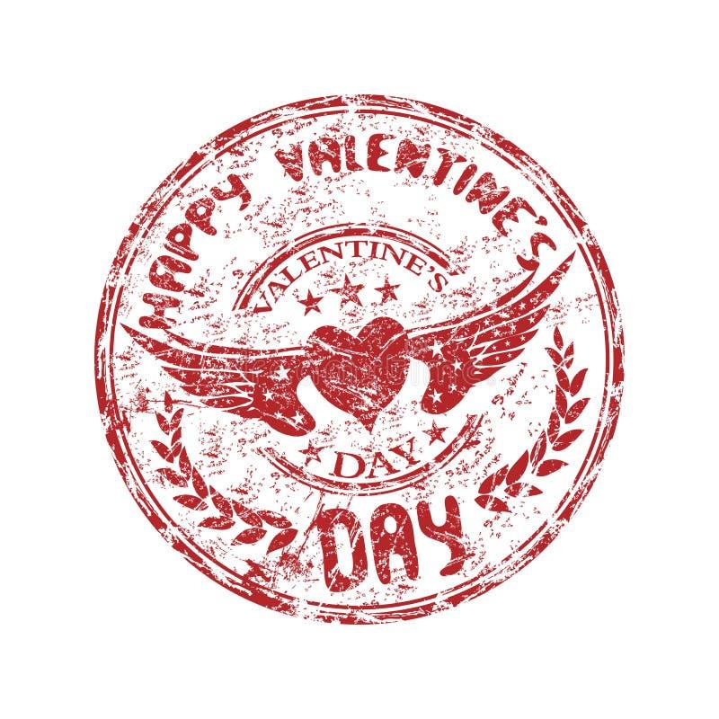 stemplowy dzień valentine s royalty ilustracja