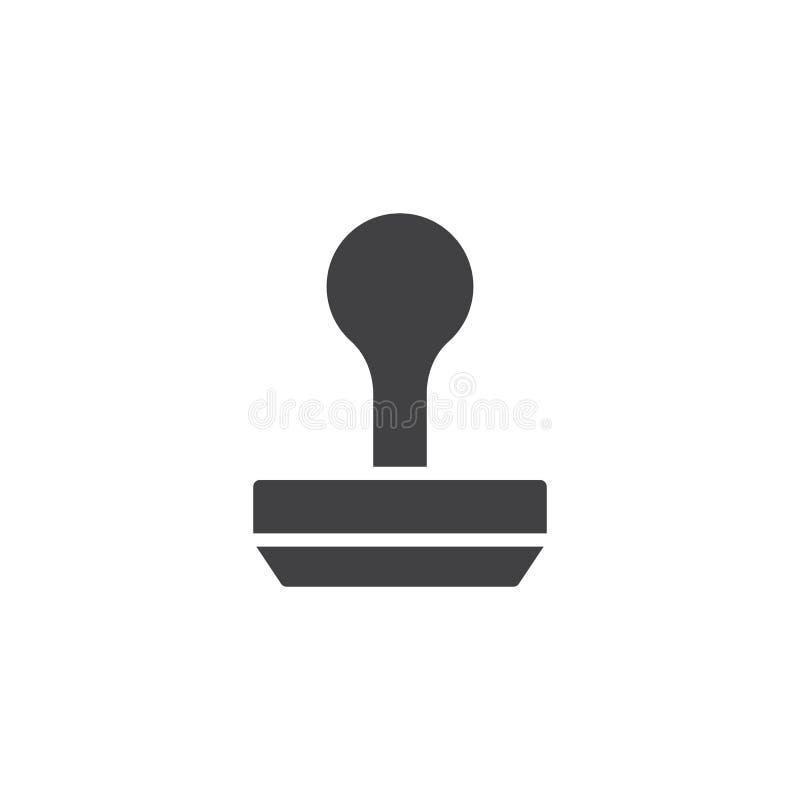 Stemplowy ikona wektor royalty ilustracja