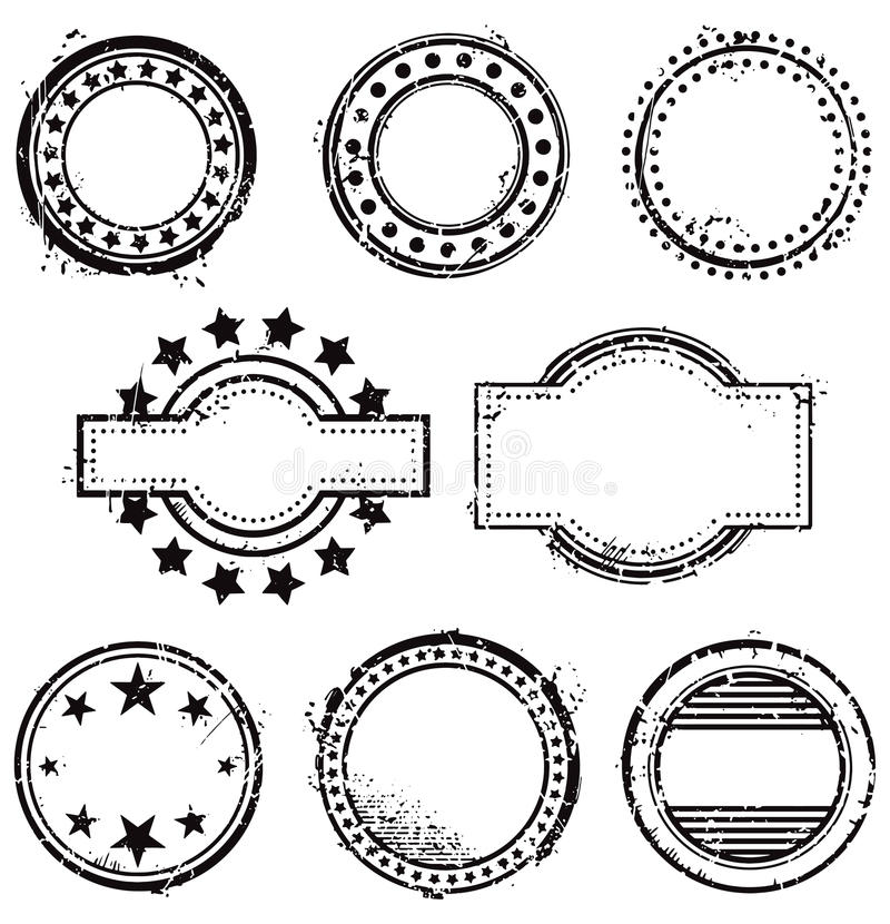 Stemplowy Set ilustracji