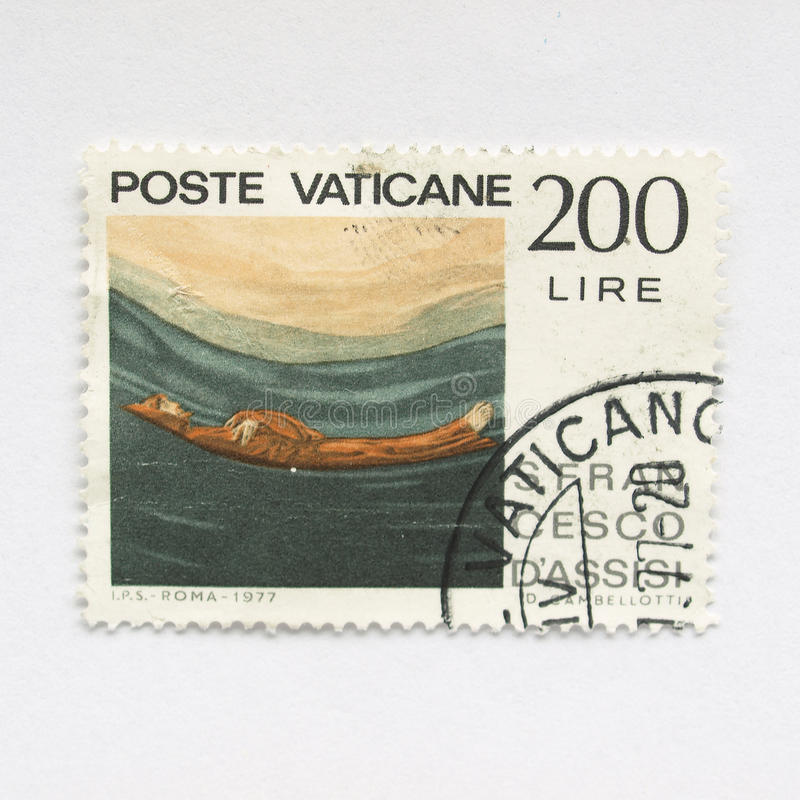 stemplowy Vatican obraz royalty free