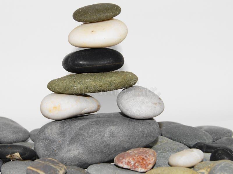 sten för 3 stapel arkivfoton