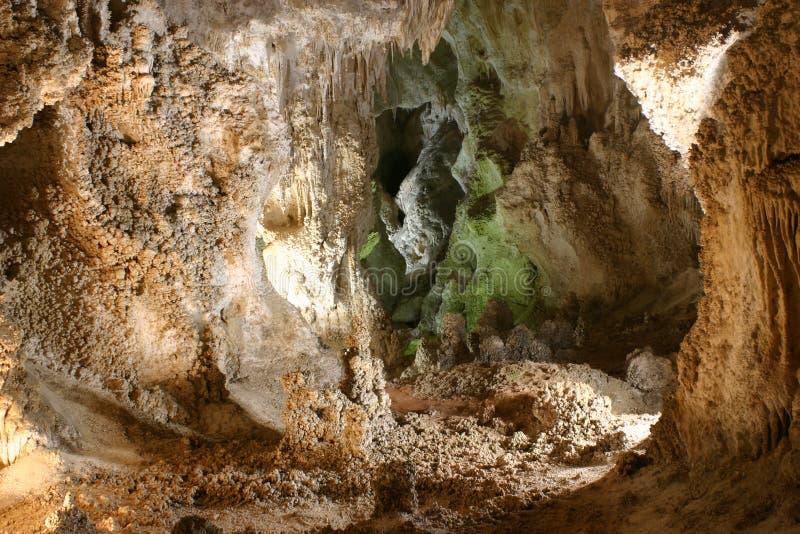 sten för carlsbad cavernsbildande arkivfoto