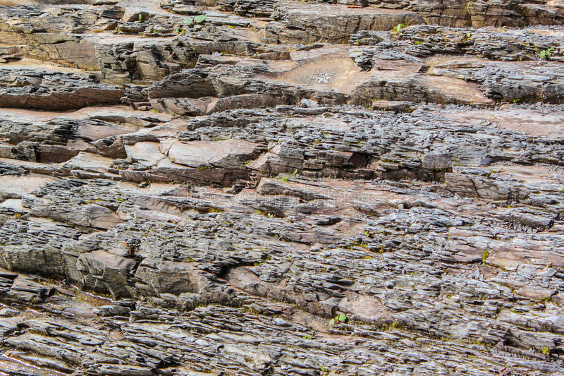 Sten-spår bergflod fotografering för bildbyråer