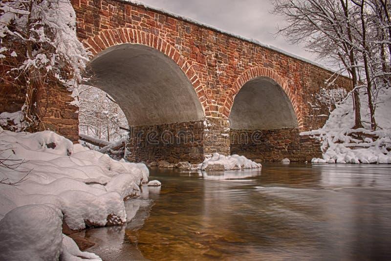 Stena bron arkivfoton