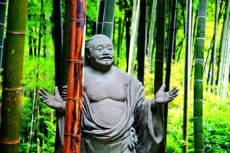 Stena skulptur i Nanshan Zhuhai ekologiskt turismområde arkivbild