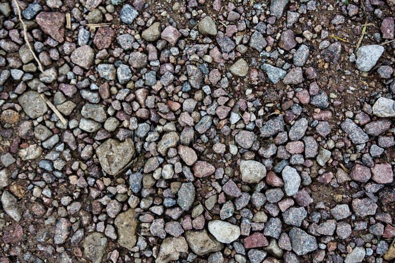 Stenar och modell royaltyfri foto