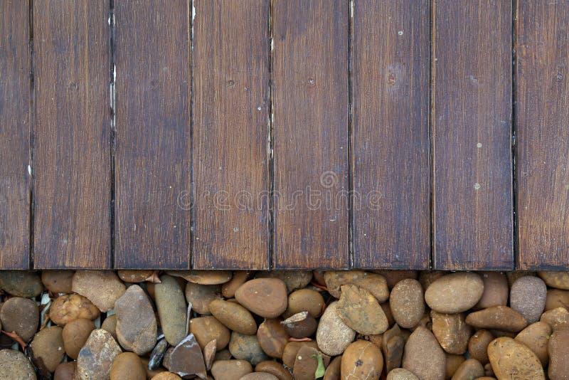stenar trä royaltyfri fotografi