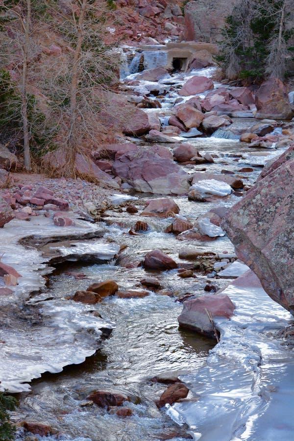 Stenblock Colorado arkivbilder
