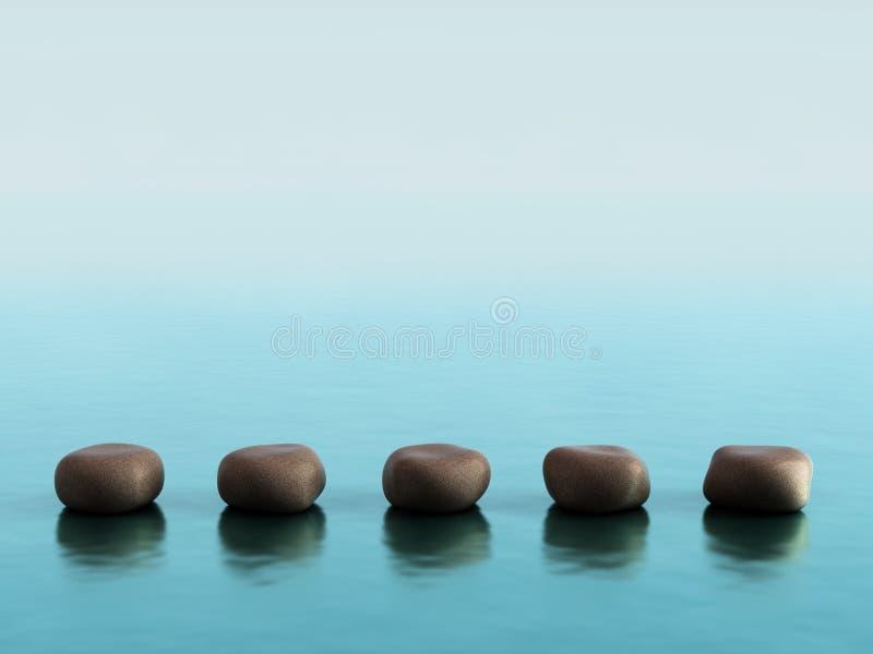 Stenen stock fotografie