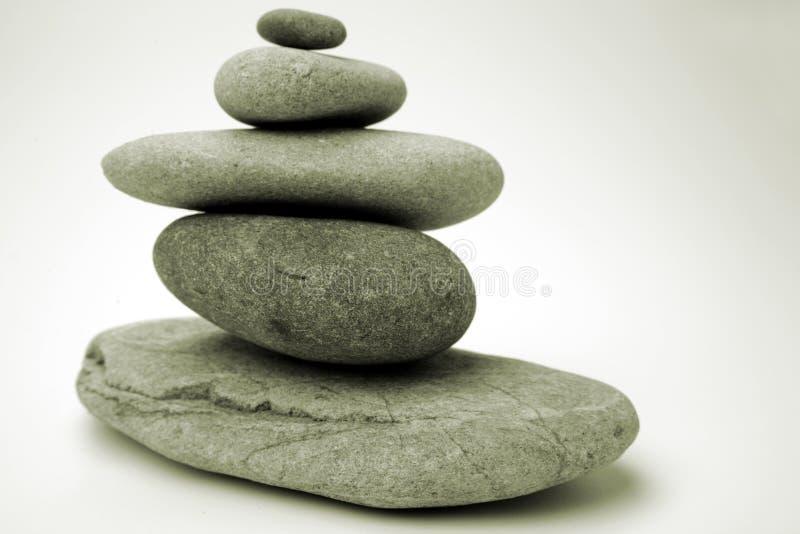 Stenen in evenwicht stock afbeeldingen