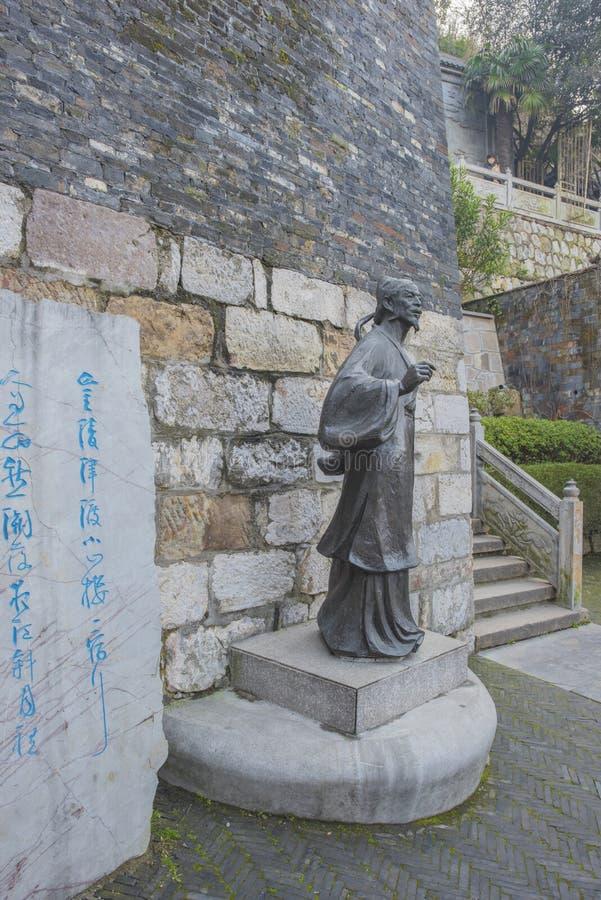 Stenen för poet` s arkivbilder