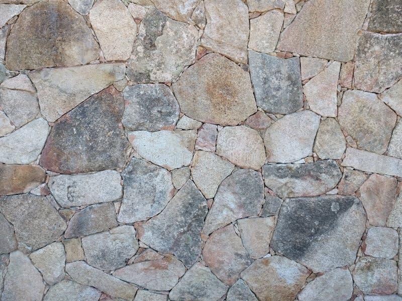 Stenen op een muur royalty-vrije stock afbeeldingen