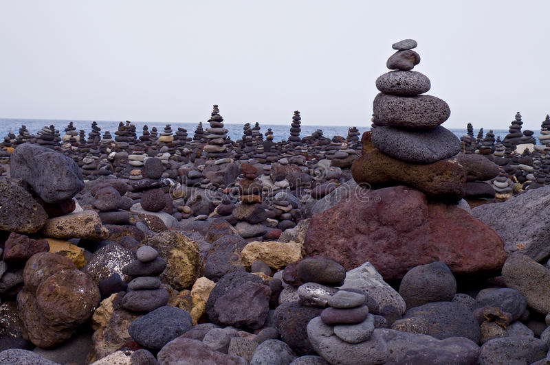 Stenen vaggar arkivfoto