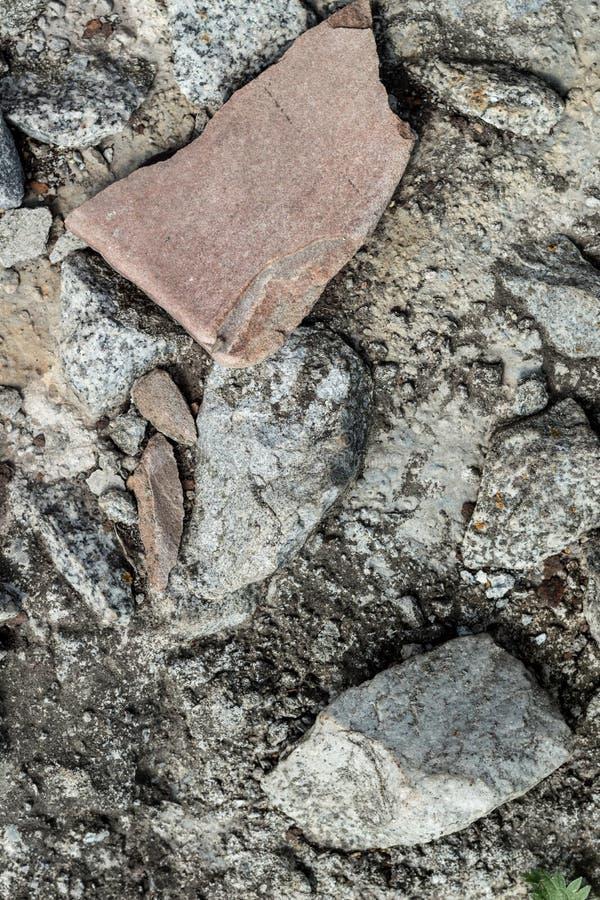 Stenen vaggar den gråa modellen för golvtexturbakgrund arkivfoton