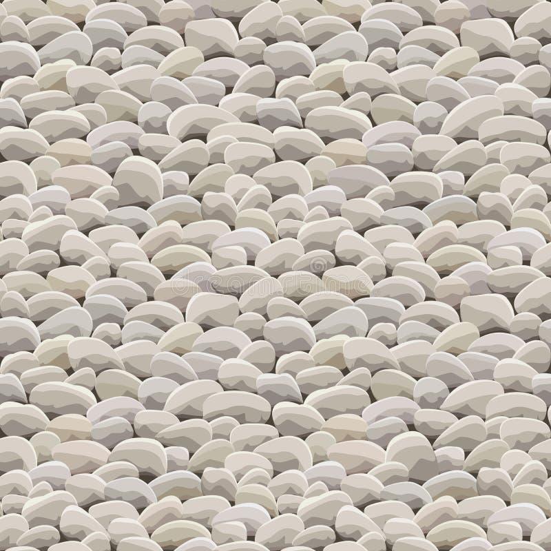 Stenen vaggar jordsömlöst vektor illustrationer
