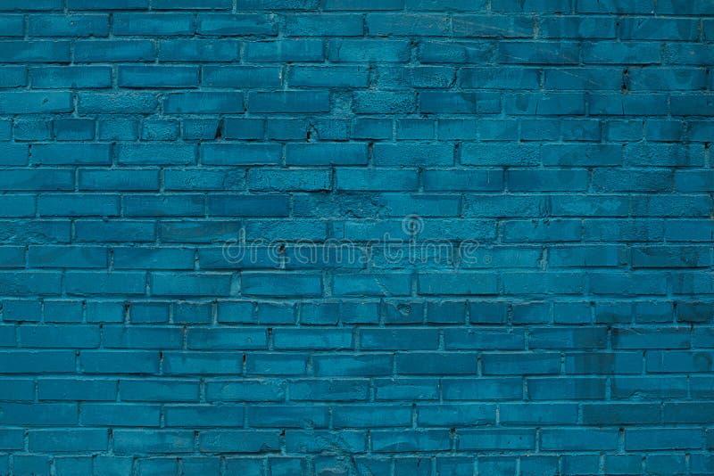 Stenen van de achtergrondtextuur de blauwe baksteen royalty-vrije stock foto's