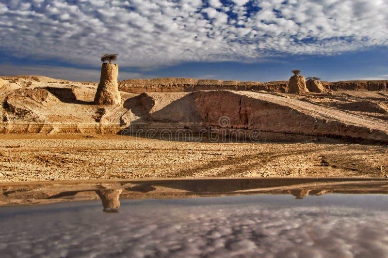 Stenen van Negev royalty-vrije stock foto's