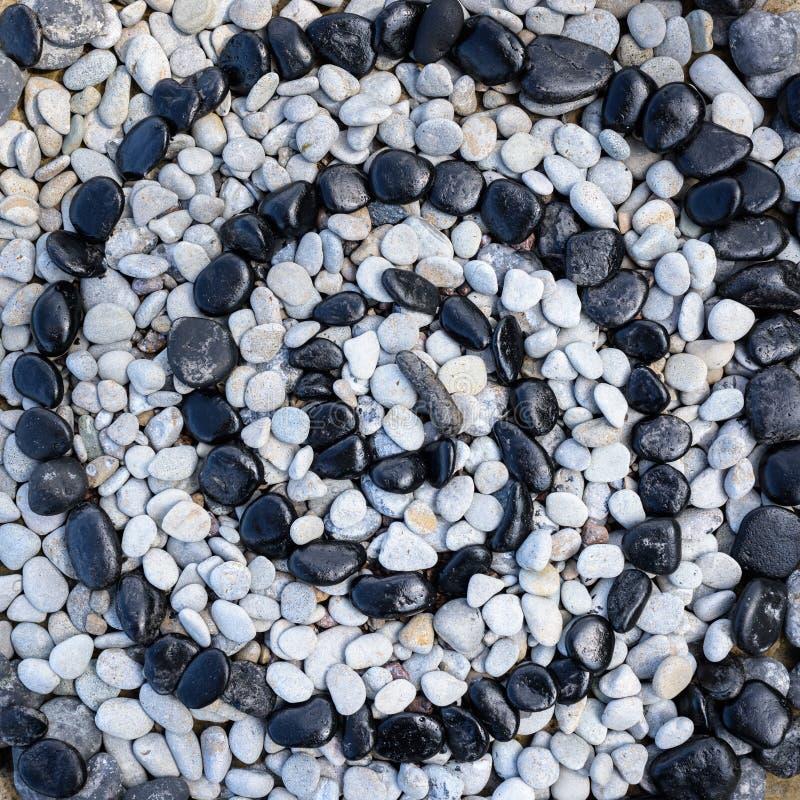 Stenen in vorm van spiraal stock foto's