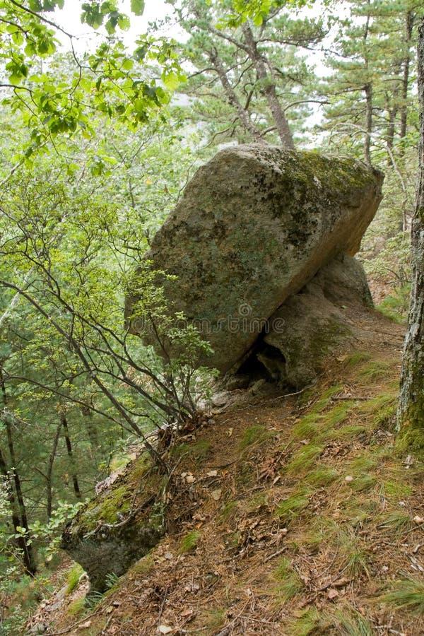 Stenenrotsen stock foto