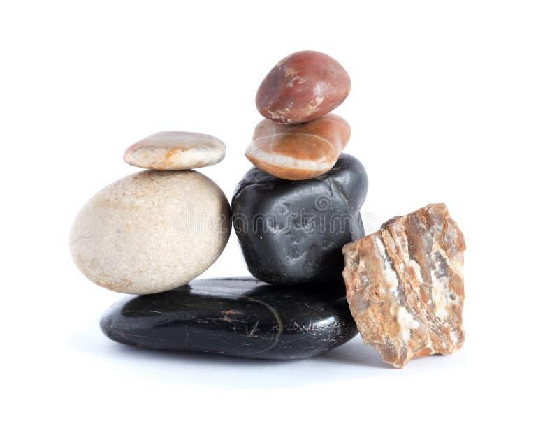 Stenenstapel royalty-vrije stock afbeelding