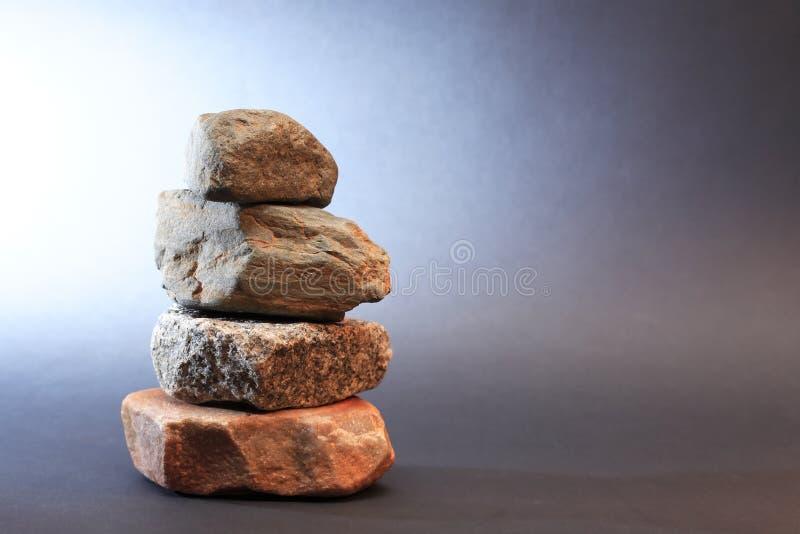 Stenenstapel stock foto's