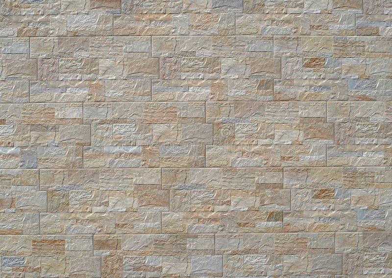 Stengodsväggpanel för yttersida med vaggar effekt Bakgrund och texturerar royaltyfria foton