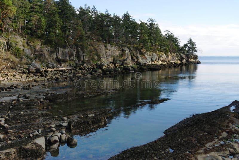 stenig kust för golfönationalpark royaltyfri bild