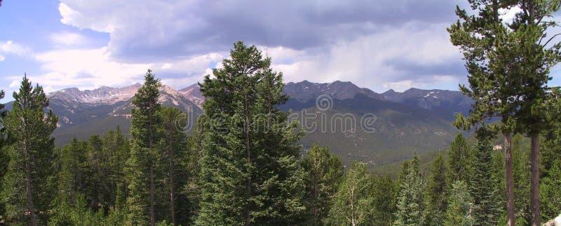 stenig nationalpark för 2 berg royaltyfria bilder