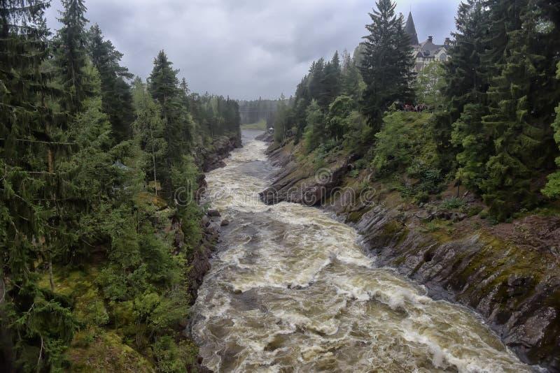 Download Stenig Vuoksi För Forntida För Gruppfinland Skog Flod För Imatra Flod Vuoksa Fotografering för Bildbyråer - Bild av oklarhet, gammalt: 76701483